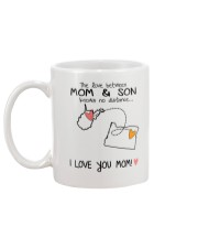 48 37 WV OR West Virginia Oregon Mom and Son D1 Mug back