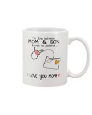 48 37 WV OR West Virginia Oregon Mom and Son D1 Mug front