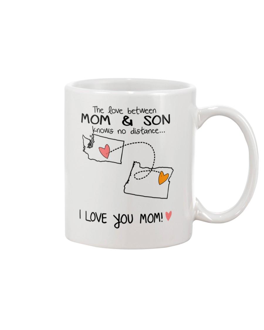47 37 WA OR Washington Oregon Mom and Son D1 Mug