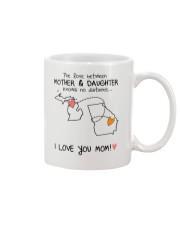 22 10 MI GA Michigan Georgia mother daughter D1 Mug front
