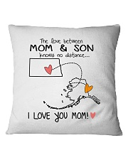 34 02 ND AK North Dakota Alaska PMS6 Mom Son Square Pillowcase thumbnail