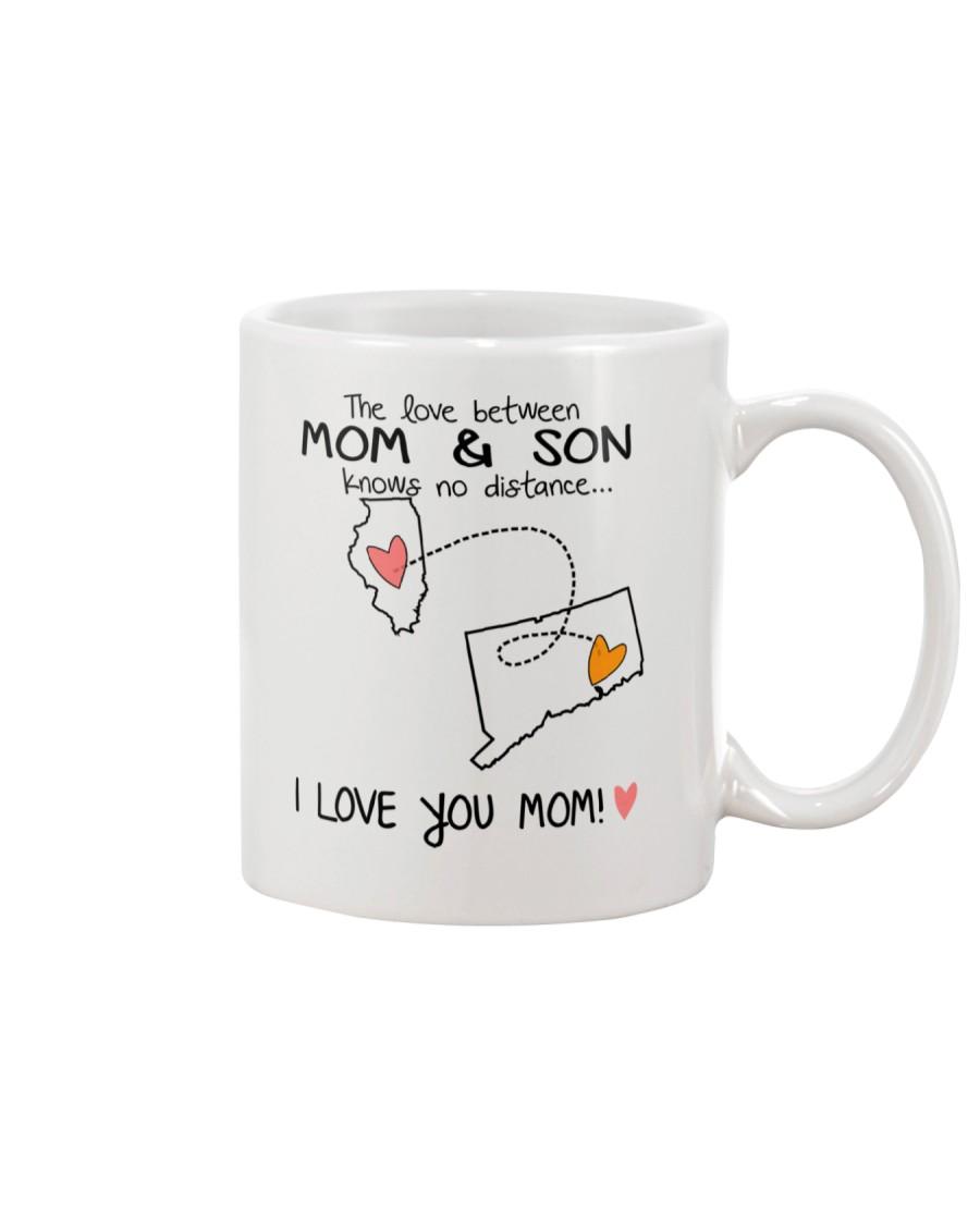 13 07 IL CT Illinois Connecticut Mom and Son D1 Mug
