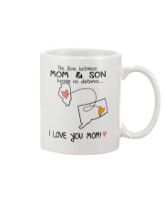 13 07 IL CT Illinois Connecticut Mom and Son D1 Mug front