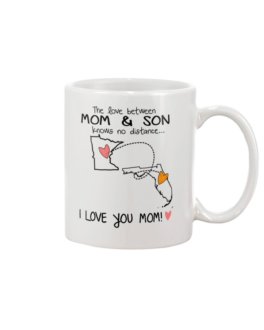 23 09 MN FL Minnesota Florida Mom and Son D1 Mug