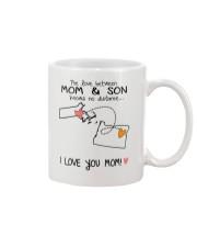 21 37 MA OR Massachusetts Oregon Mom and Son D1 Mug front