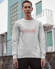 thx for flying spacex Long Sleeve Tee apparel-long-sleeve-tee-lifestyle-03