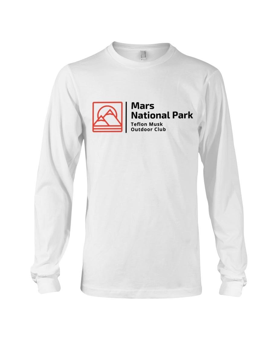 Mars National Park Long Sleeve Tee