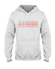teflon musk merch - thx for flying spacex  Hooded Sweatshirt thumbnail