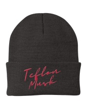 teflon musk merch - thx for flying spacex  Knit Beanie thumbnail