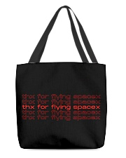 teflon musk merch - thx for flying spacex  All-over Tote thumbnail
