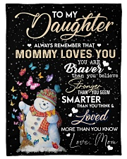 TO MY DAUGHTER Fleece Blanket tile