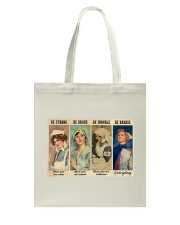 Be Strong Tote Bag tile