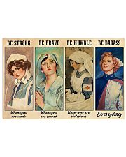 Be Strong 36x24 Poster front