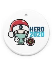 Hero 2020 Circle Ornament (Porcelain) tile