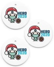 Hero 2020 Circle ornament - 3 pieces (porcelain) front