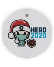 Hero 2020 Circle ornament - single (wood) thumbnail