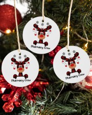 Pharmacy Crew - Christmas Reindeer Circle ornament - 3 pieces (porcelain) aos-cricle-ornament-3-pieces-porcelain-lifestyles-02