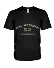 Rose Apothecary Locally Sourced Tshirt Gift Tee  V-Neck T-Shirt thumbnail