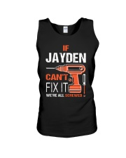 If Jayden Cant Fix It - We Are All Screwed Unisex Tank thumbnail