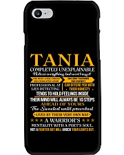 Tania - Completely Unexplainable Phone Case thumbnail