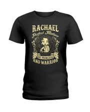 PRINCESS AND WARRIOR - Rachael Ladies T-Shirt front