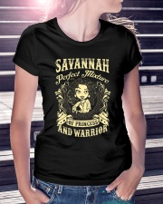 PRINCESS AND WARRIOR - Savannah Ladies T-Shirt lifestyle-women-crewneck-front-7
