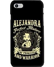 PRINCESS AND WARRIOR - Alejandra Phone Case thumbnail