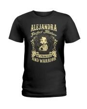 PRINCESS AND WARRIOR - Alejandra Ladies T-Shirt front