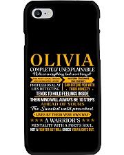 Olivia - Completely Unexplainable PX32 Phone Case thumbnail