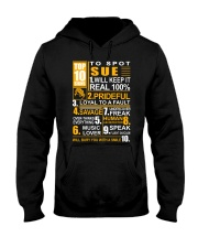 Sue - top10 Hooded Sweatshirt thumbnail