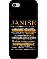 JANISE - Completely Unexplainable Phone Case thumbnail