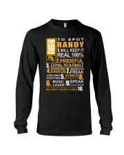 Randy - top10 Long Sleeve Tee thumbnail
