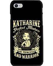 PRINCESS AND WARRIOR - Katharine Phone Case thumbnail