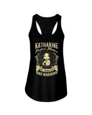 PRINCESS AND WARRIOR - Katharine Ladies Flowy Tank thumbnail