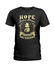 PRINCESS AND WARRIOR - Hope Ladies T-Shirt front