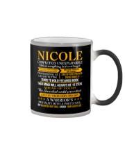 Nicole - Completely Unexplainable Color Changing Mug thumbnail