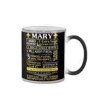 Mary - Sweet Heart And Warrior Color Changing Mug thumbnail