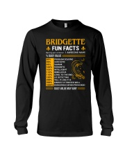 Bridgette Fun Facts Long Sleeve Tee thumbnail
