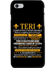 Teri - Completely Unexplainable Phone Case thumbnail