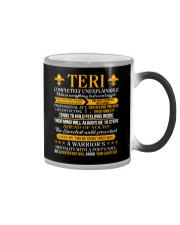 Teri - Completely Unexplainable Color Changing Mug tile