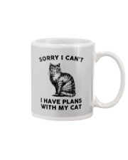 I have plans with cat Mug thumbnail