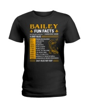 Bailey Fun Facts Ladies T-Shirt tile