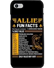 Allie Fun Facts Phone Case thumbnail