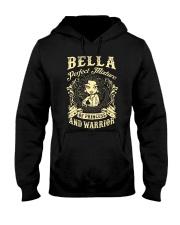PRINCESS AND WARRIOR - Bella Hooded Sweatshirt thumbnail