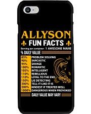 Allyson Fun Facts Phone Case thumbnail