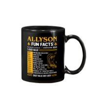 Allyson Fun Facts Mug thumbnail