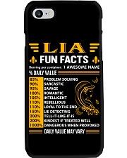 Lia Fun Facts Phone Case thumbnail