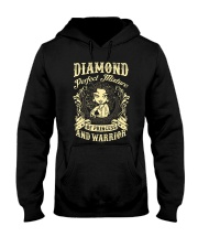 PRINCESS AND WARRIOR - Diamond Hooded Sweatshirt thumbnail