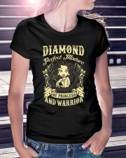 PRINCESS AND WARRIOR - Diamond Ladies T-Shirt lifestyle-women-crewneck-front-7