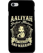 PRINCESS AND WARRIOR - Aaliyah Phone Case thumbnail